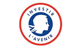 Logo Programme d'Investissements d'Avenir partenaire de VR Connection